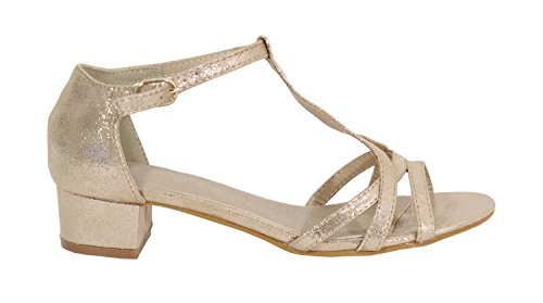 para Mujer Shoes Gold Sandalias by wS7TS