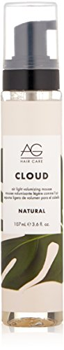 AG Hair Natural Cloud Airlight Volumizing Mousse, 3.6 Fl Oz