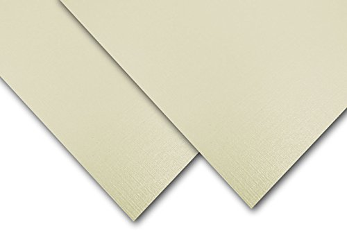 Classic Linen Natural White Pearl 8.5x11 Card Stock - 25 Pk - Neenah Classic Linen Natural