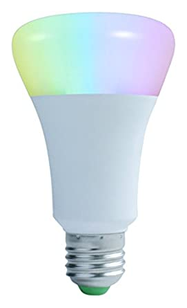 Smart Bulb 7W Bluetooth LED Light Bulb E27 U_B_SMART - Wireless Smartphone  APP Controlled Dimmable Colour Changing Light - Works with iPhone, iPad, ...