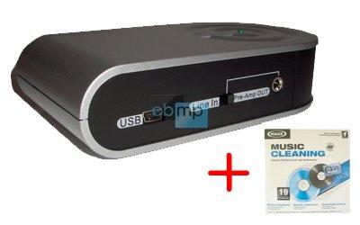 USB de PC Ordenador de tocadiscos estéreo Phono adaptador nuevo ...