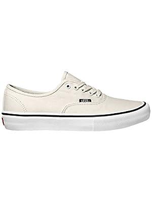 Vans Authentic Pro Skate Sneakers White/White Mens 7