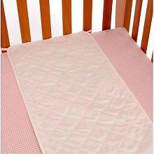 Babies R Us Plush Sheet Saver - White by Babies R Us