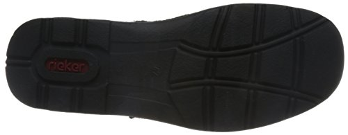 Rieker Heren M.low Schoenen Zwart Extra Breed Zwart
