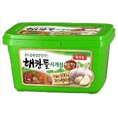 Four season Ssamjang 1kg Korean food, Korean food and Korean seasonings and F Chang dollar Den Jean Korea miso-flavored