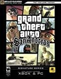 xbox grand theft auto san andreas - Grand Theft Auto: San Andreas Official Strategy Guide