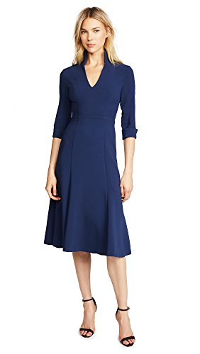 Black Halo Women's Kensington Dress, Navy, 8