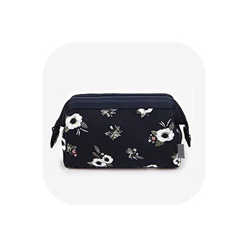 Xoxo Hobo Handbag - New Arrive Flamingo Cosmetic Bag Women Necessaire Make Up Bag Travel Waterproof Portable Makeup Bag Toiletry Kits High Capacity,Dark Blue