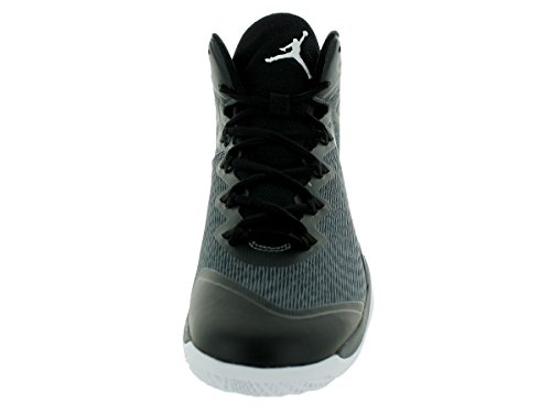 NIKE Herren Jordan Super.Fly 3 Black White Dark Grey 003