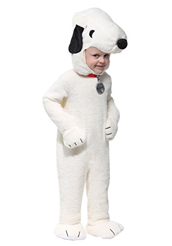 Snoopy Costumes Kids - Snoopy Super Deluxe Toddler Costume