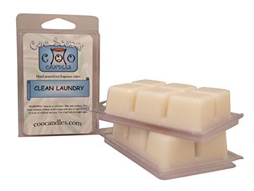 Coo Candles 3 Pack Soy Highly Scented Wickless Candle Bar Wax Melts -Clean - Wax Clean Candle