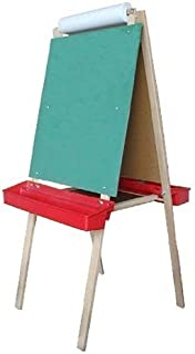 product image for Beka 01107 Paper Holder Easel Magnet Board Chalkboard Red Trays Cutter