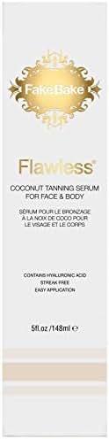 Fake Bake Flawless Coconut Tanning Serum, Face & Body, 5 oz