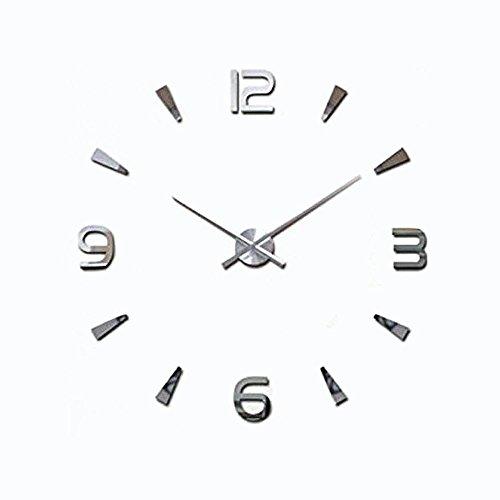 Lance Home Creative Special Large DIY Quartz Decoration 3D Wall Clock Modern -