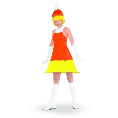 Candy Corn Adult Costume Size Standard -