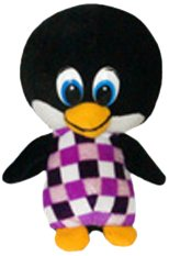 Purple 10.5 ToySource Partay The Penguin Plush Collectible Toy