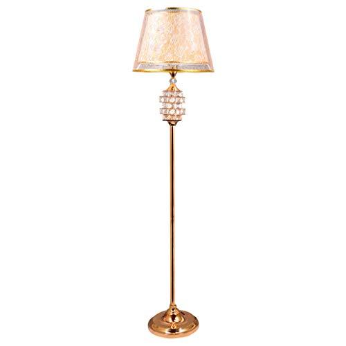 NNIU- Lámpara de pie, lámpara de mesa vertical de lujo moderna ...