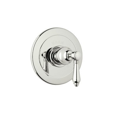 Rohl A6400LCPN R9453385Ib for Pressure Balance with Integrated Volume Control with Crystal Lever and without Diverter, Polished Nickel