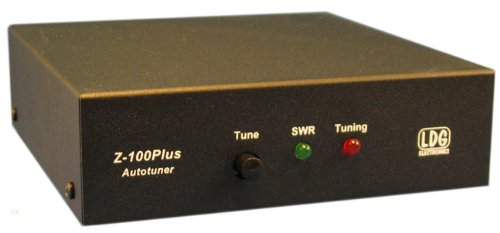 LDG Electronics Z-100PLUS Automatic Antenna Tuner 1.8-54 MHz, 0.1-125 Watts, 2 Year Warranty by LDG Electronics