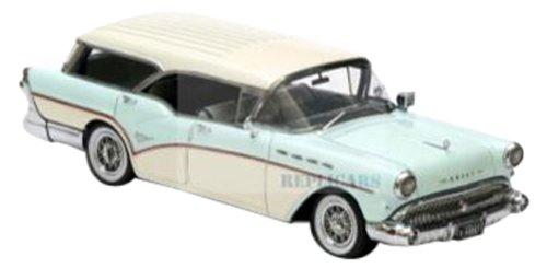 1/43 ビュイック センチュリー カバレロ ステーションワゴン 1957 ホワイト/ブルー NEO44067