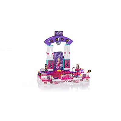 Mega Bloks Barbie Super Star Stage: Toys & Games