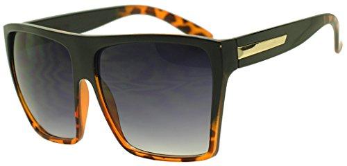 SunglassUP Square Oversized Aviator Sunglasses