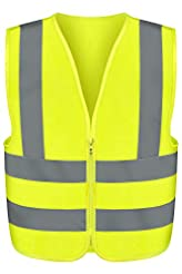Neiko 53941A High Visibility Safety Vest...