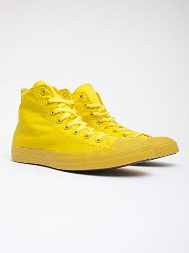 Converse Monocrome All Star Hi - Zapatillas abotinadas Unisex adulto Amarillo