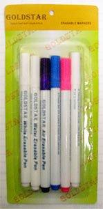Goldstar Erasable Markers (Goldstar Pens)