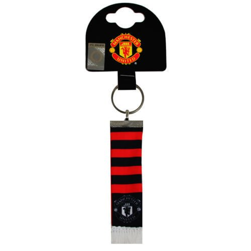 Manchester United Fc Scarf Keyring