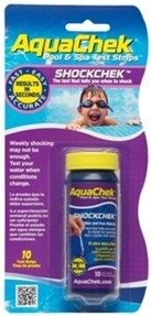 Aqua Check Shock Swimming Pool Test Strips - 10ct.