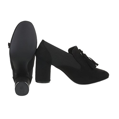 Schuhcity24 Damen Schuhe Pumps Moderne Schwarz