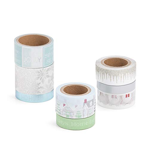 Martha Stewart 30068353 Washi Tape-Home for the Holidays, Assorted