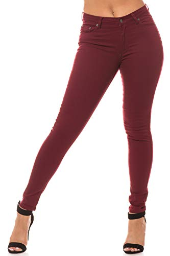 Aphrodite Semi High Waisted Jeans for Women - High Rise Waist Skinny Womens 30