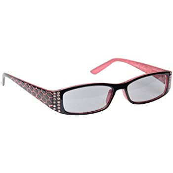 db42c038246 Sun Readers Reading Glasses Sunglasses Womens Ladies UV400 Protection Pink UV  Reader UVSR001 Inc Case Strength