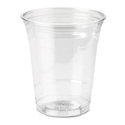 Dixie Clear Plastic PETE Cups, Cold, 12 oz, WiseSize Packs - Includes 500 cups.