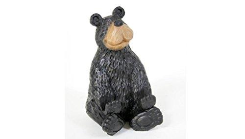 Adorable Black Bear Business Card Holder ()