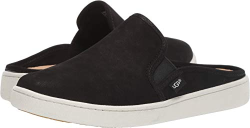UGG Women's Gene Sneaker, Black, 5.5 M US