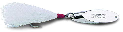 acme Kastmaster Lure with Bucktail, Chrome,...
