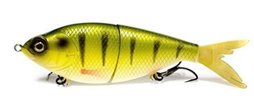6th Sense Flow Glider 130 Glide Swimbait - Yellow Perch