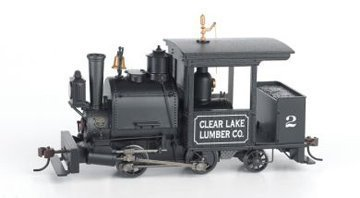 On30 Spectrum 0-4-2 w/DCC & Sound, Clear Lake #2 by Bachmann ()