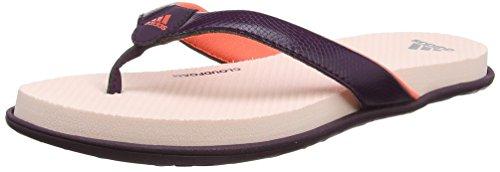 Adidas Cloudfoam One y W, Chanclas para Mujer Rojo (Rojnoc/Corsen/Roshel)