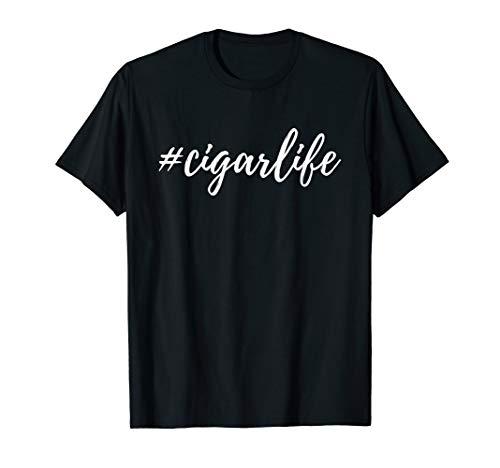 (Cigar Life T-Shirt For Cigar Enthusiasts)