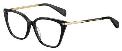 Eyeglasses Rag /& Bone Rnb 3005 02M2 Black Gold
