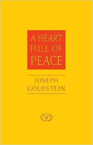 amazon com a heart full of peace 9780861715428 joseph goldstein
