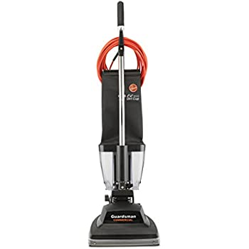 Hoover Commercial C1433-010 Guardsman Industrial Bagless Upright Vacuum with EZ-Empty Dirt Cup