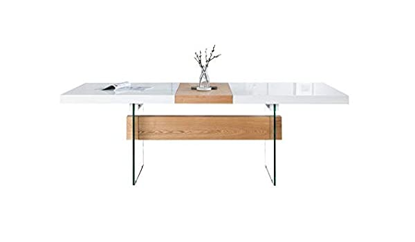 DOLSOFA DIST Mesa Extensible para Comedor escandinava 160 – 200 cm ...