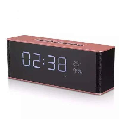 xingganglengyin Alarm Clock Bluetooth Speaker Wireless Card Stereo subwoofer with time Gift Creative Audio by xingganglengyin (Image #7)