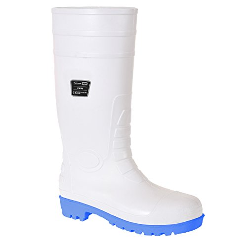 Portwest Steelite Total Safety Wellington S5 - zapatos de seguridad para hombre Blanco