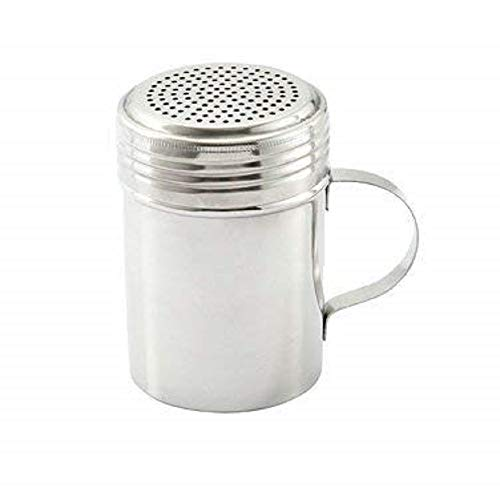 - Stainless Steel Dredge Shaker with Handle, Set of 2 - 10 oz.
